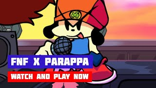 Friday Night Funkin' x PaRappa | FNF PaRappa the Rapper Mod | HTML5 Online Port
