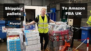 Shipping My First Pallets into Amazon FBA UK - UK Reseller - Make Money Online