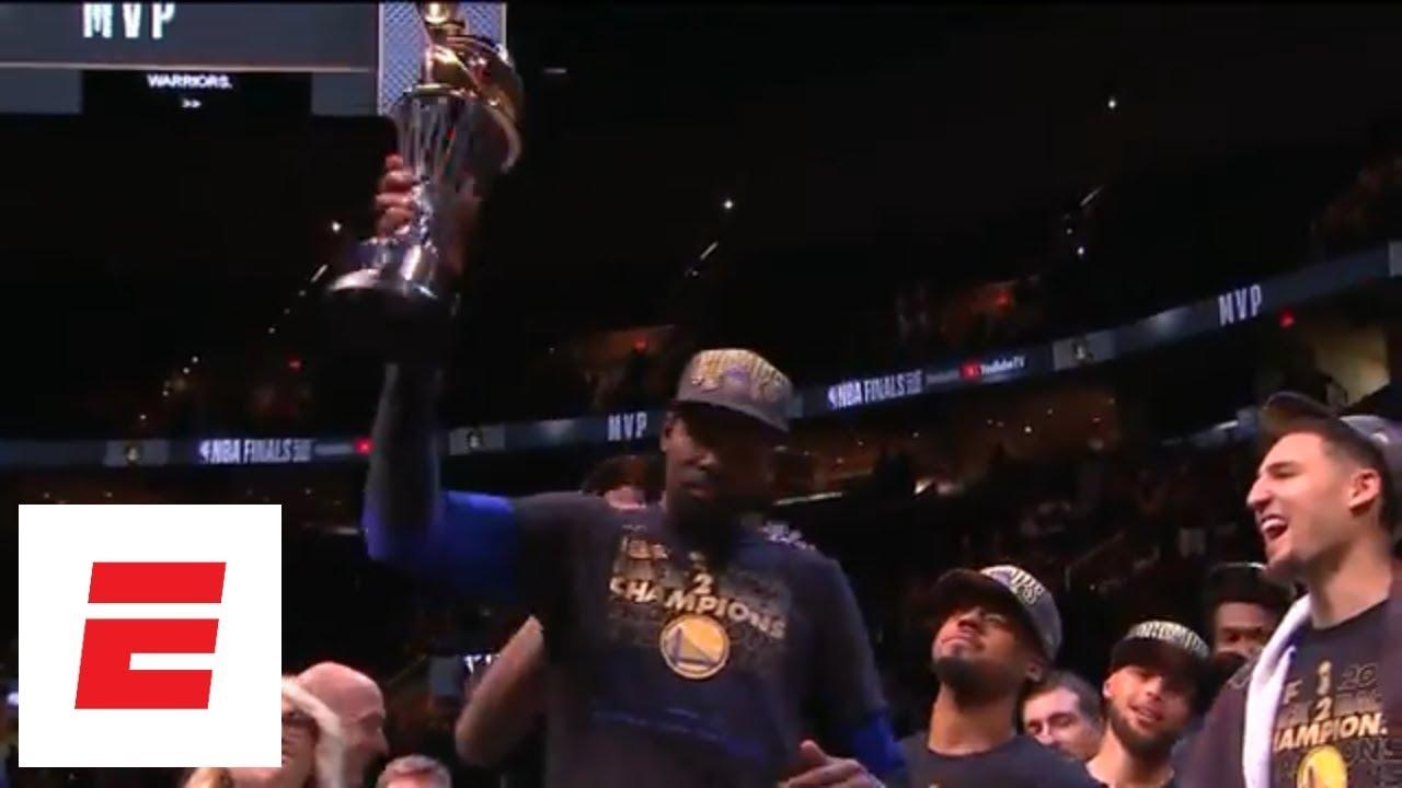ffa59eb053db  FULL  Kevin Durant s 2018 NBA Finals MVP acceptance speech