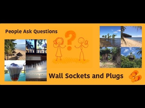 Wall Sockets And Plugs In The Philippines Youtube