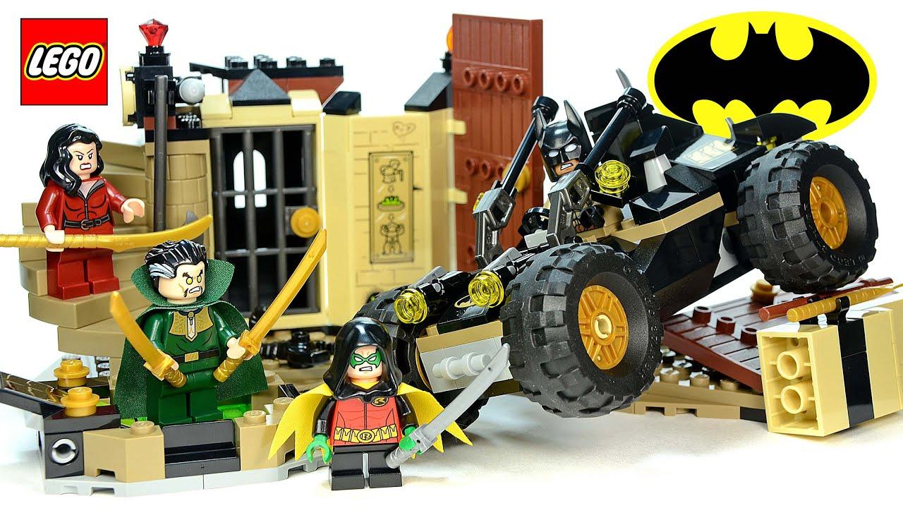 NEW Genuine LEGO Talia al Ghul Minifigure 76056 Batman Minifig
