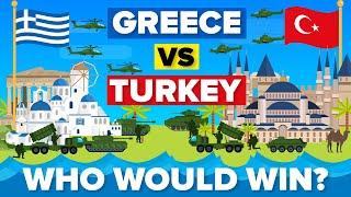 Greece vs Turkey – 2020 Military/Army Comparison