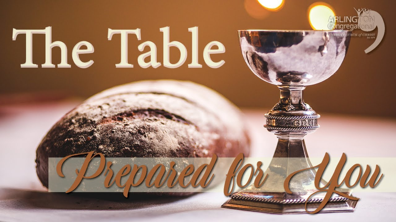 The Table Prepared for You | May 3, 2020