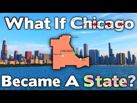 What If Chicago Became A State?