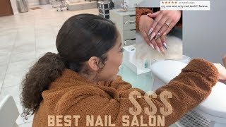 GOING TO THE BEST RATED NAIL SALON IN NYC *5 STARS*
