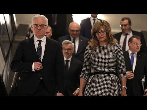 Ministra dos Negócios Estrangeiros da Bulgária recebe homóloga da Aústria