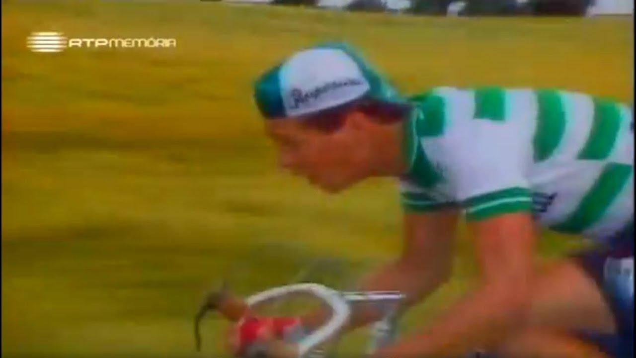 Ciclismo :: Volta à França de 1984, Paulo Ferreira (Sporting) 1ª e única vitória em etapa de uma equipa portuguesa no Tour