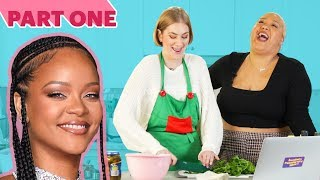 I Made A Holiday Dinner Using Only Celebrity Recipes • Part 1: Rihanna & Oprah