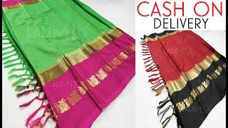 top 10 tussar silk saree with price below 1000 Rs / online shopping