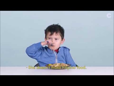 Just Ernie (american kids try more Filipino food ep12)