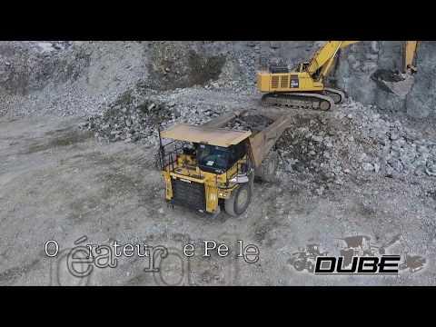 Dubé Excavation embauche pour un projet à North American Lithium (La Corne, Qc)