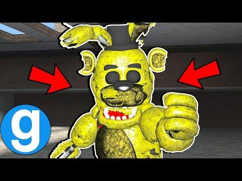 New FNAF Destroyed Animatronic Pill Pack Spotlight! Garry's Mod Sandbox Five Nights at Freddy's thumbnail