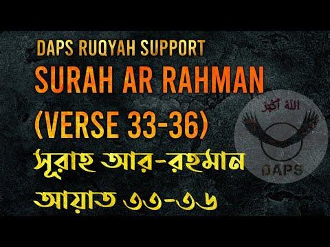Daps Ruqyah Support Surah Ar Rahman Ayat 33 36