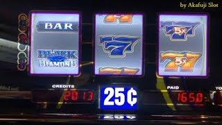 Winner - Quarter Black Diamond 😍🎉@ San Manuel Casino ブラックダイヤモンド, 赤富士スロット, カリフォルニア カジノ, 米国