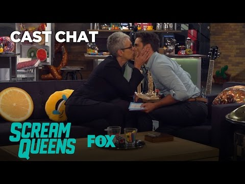 Jamie Lee Curtis & John Stamos Make Out In The Fox Lounge  Season 2  SCREAM QUEENS