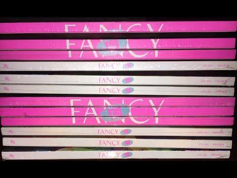 Unboxing 12 Fancy You albums