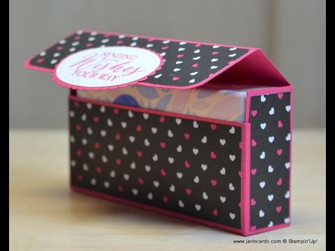 No.251 - Handbag Tissue Packet Box - JanB UK Stampin' Up! Demonstrator Independent