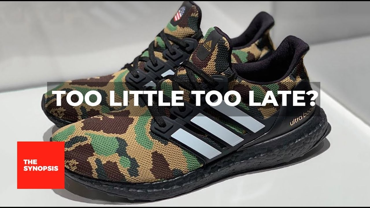 5c5dd8bdc6a Is the Bape Ultraboost Too Little Too Late