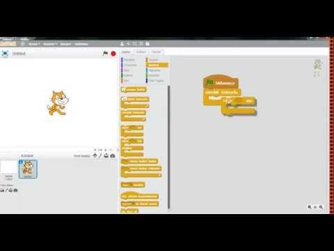 Scratch 2.0 - Algılama Bloğu - 17. Video