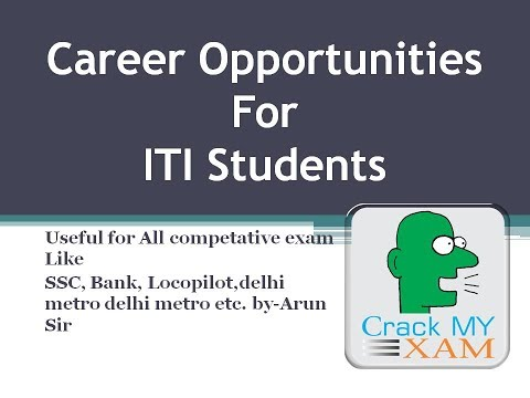 career opprtunities for ITI students