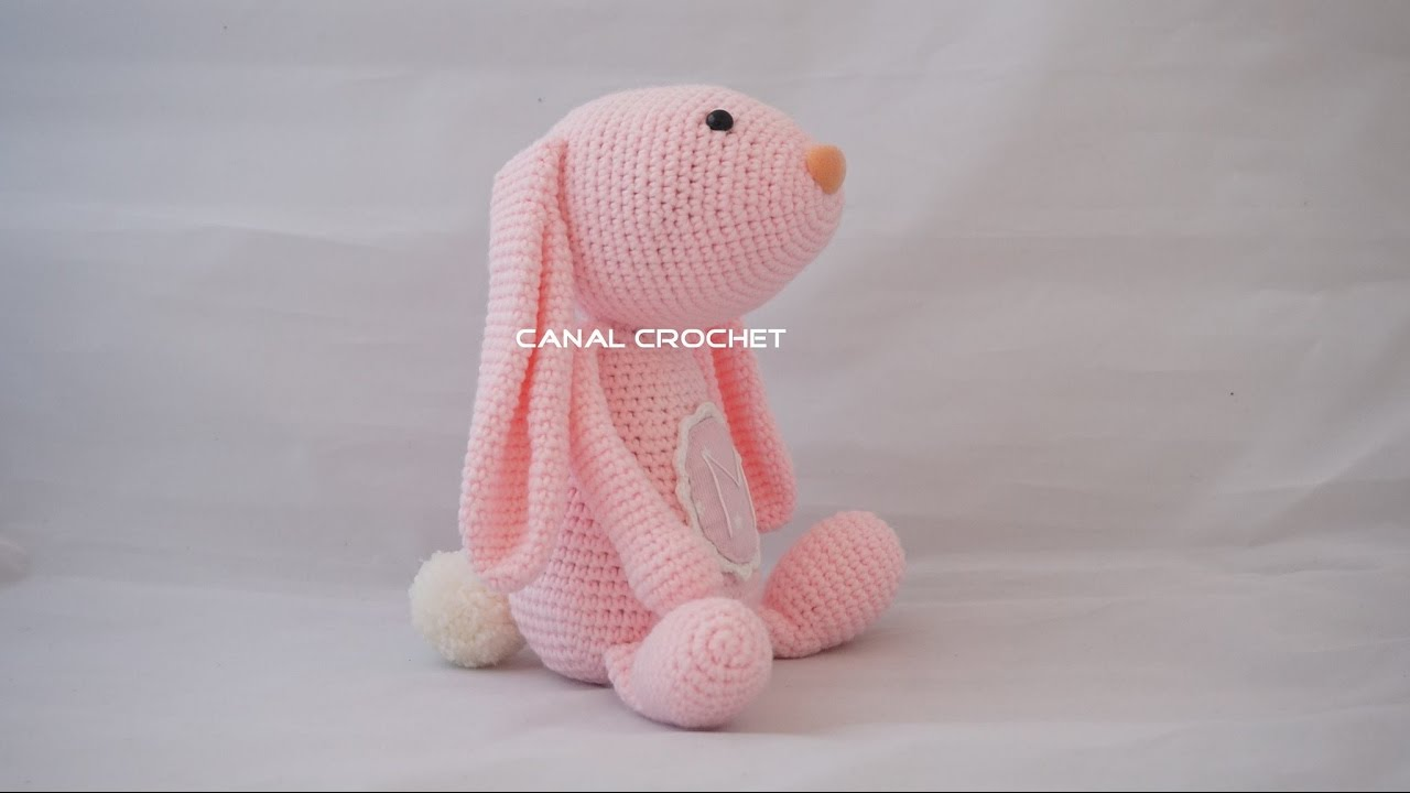 CONEJO AMIGURUMI TUTORIAL - YouTube