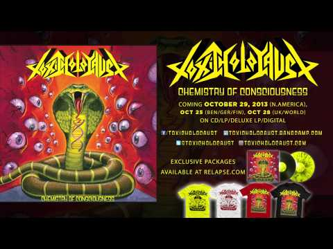 "TOXIC HOLOCAUST - ""Chemistry of Consciousness"" (Official Track)"