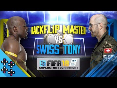 CESARO Vs. APOLLO CREWS - FIFA 18 Superstar Tournament - Gamer Gauntlet