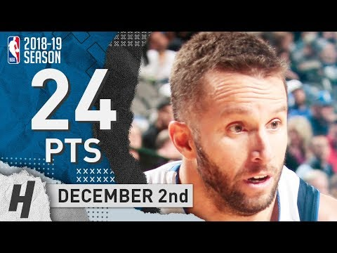 J.J. Barea Full Highlights Mavericks vs Clippers 2018.12.02 - 24 Pts, 4 Ast, 5 Rebounds!