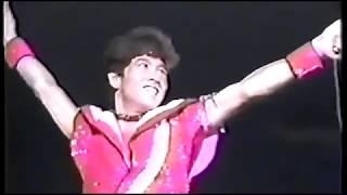 たのきんトリオライブ 昭和58年 8月28日.