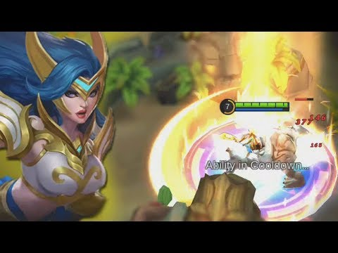 NEW Freya Rework Gameplay! (Hero Look, Skill Effects, Animation) Mobile Legends