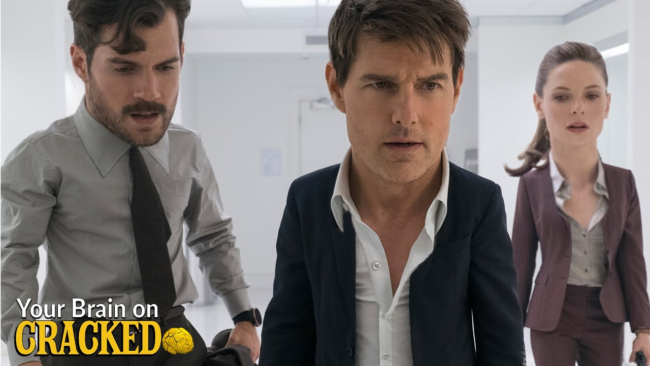 4 Dumb Ways Modern Movies Portray Masculinity - Your Brain On Cracked (Mission Impossible, DCEU)