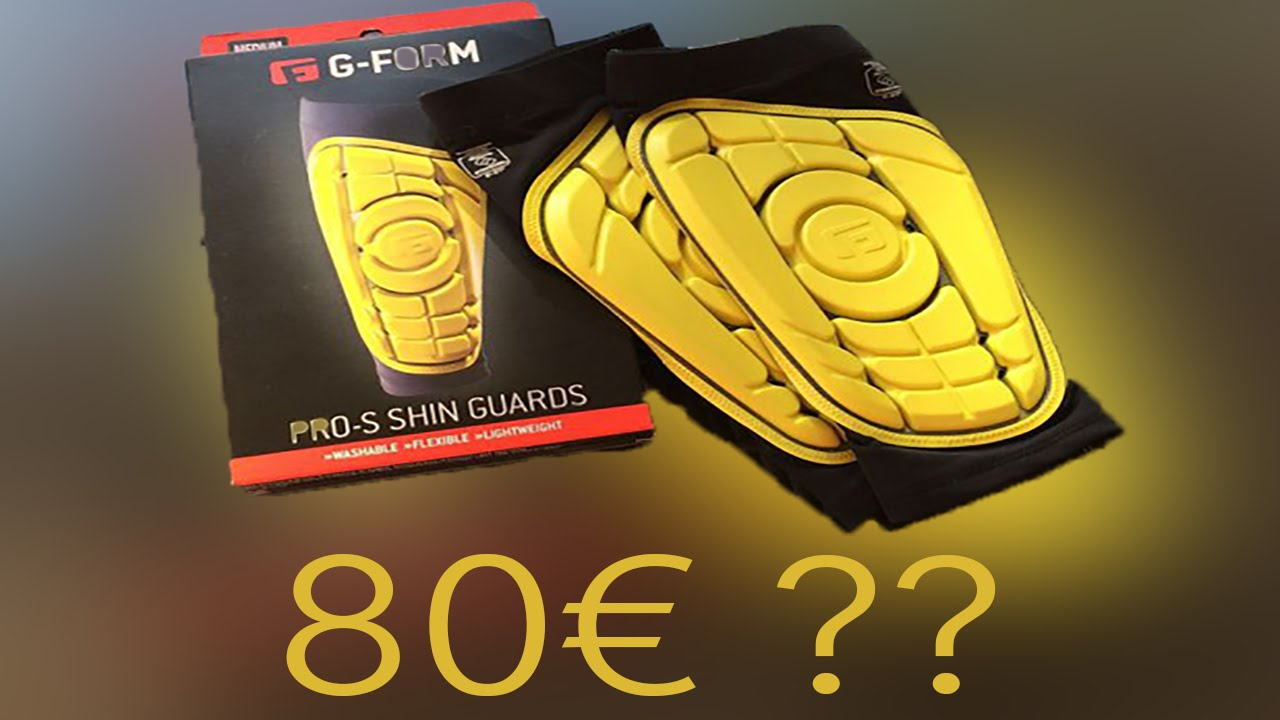 G-Form PRO-S Shine Guards • 80€ !? • UNBOXING + ON - FEET - YouTube