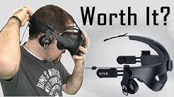 IS IT WORTH IT? | HTC Vive Deluxe Audio Strap Review
