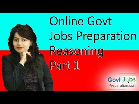 Online Govt Jobs Preparation-Reasoning-Part1