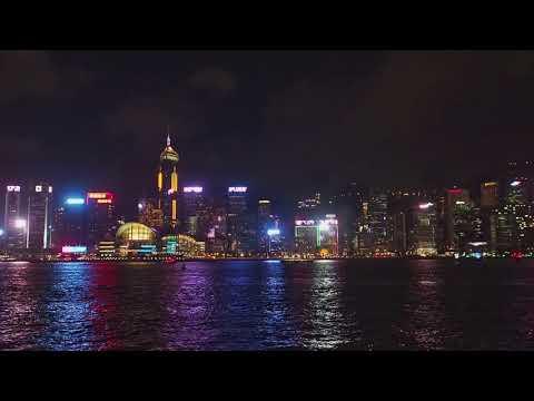 A Symphony of Lights x Hong Kong Pulse Light Show Wan Chai 20180720 |2018 Summer Version