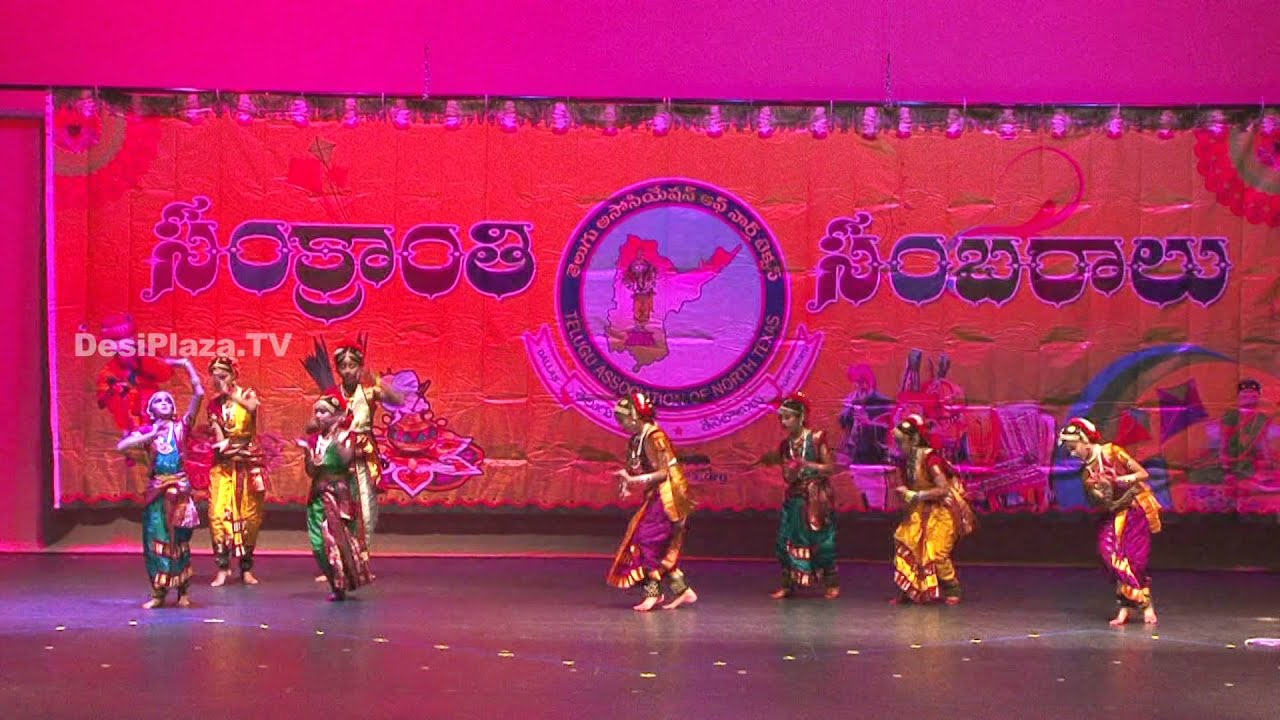Clasical Dance by Kids at Sankranti Sambaralu 2016