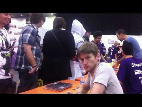 Gideon Emery, Adam Howden & the Dragon Age Cosplayers