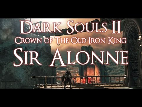 Dark Souls 2 Crown Of The Old Iron King Boss Guide   Sir Alonne