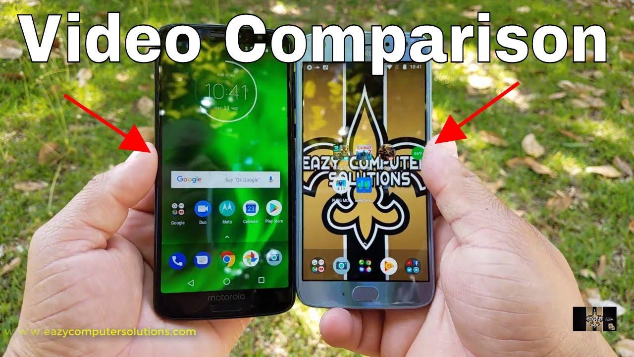 Moto X4 Vs Moto G6 Detailed Comparison 2018 Design Performance Cameras More Youtube