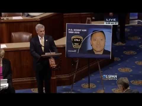Rep. Wenstrup Pays Tribute to Officer Kim