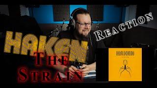 DRUMMER REACTS to HAKEN - The Strain | (Reaction)