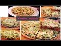 How to make Pizza on tawa - Tawa Pizza Recipe - Tawa Pizza Recipe in Hindi - YouTube