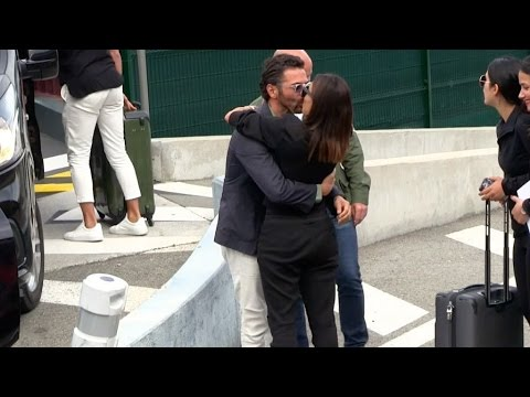 EXCLUSIVE : Eva Longoria arriving at Cannes airport for the 2017 Cannes Film Festival