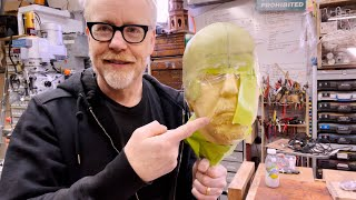 Adam Savage's One Day Builds: Epoxy Headcast Helmet Skullcap!