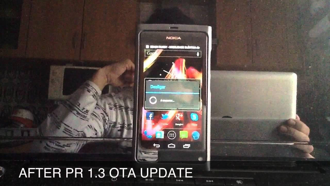 nokia n9 firmware pr1.3