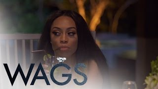 WAGS | Sasha and Tia Fight at the Dinner Table | E!