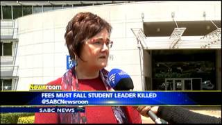TUT student dies following protests Thursday night