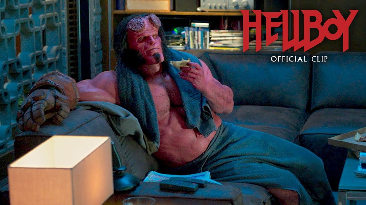 "Hellboy (2019 Movie) Official Clip ""Osiris Club"" – David Harbour, Ian McShane"