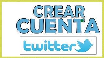 ☑️ Como crear una CUENTA de TWITTER en 2020 【 Paso a Paso 】