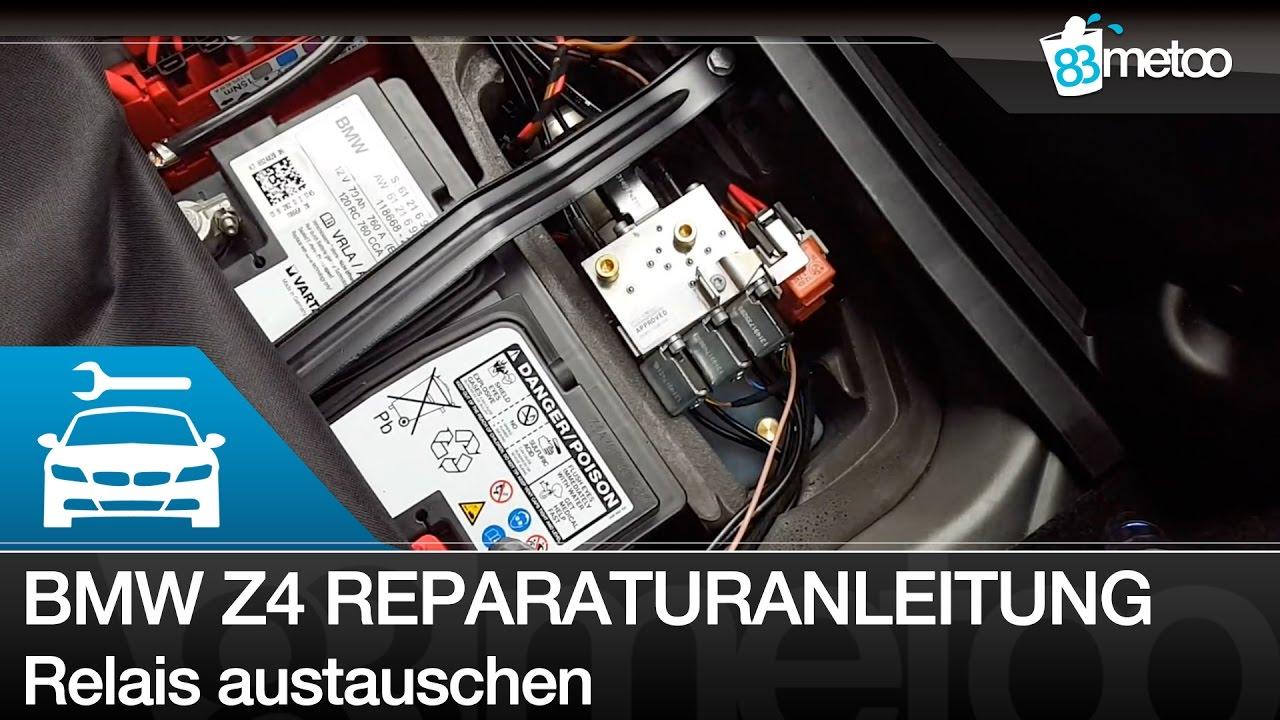 BMW Z4 E89 Reparaturanleitung Verdeck öffnet nicht oder schließt ...
